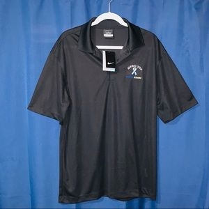 Mens Nike Polo. Size L. Boston Strong Edition. NWT